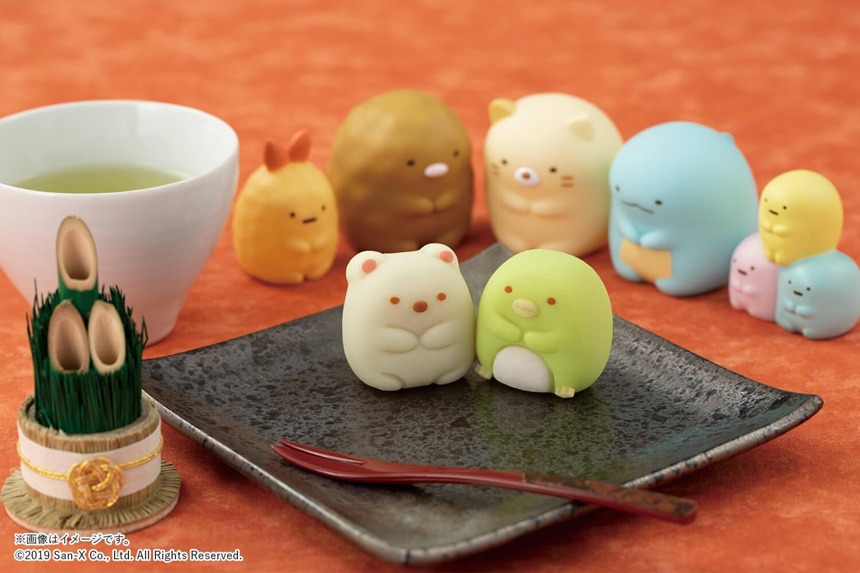 食べマス 和菓子 すみっコぐらし Tabemasu japanese sweets