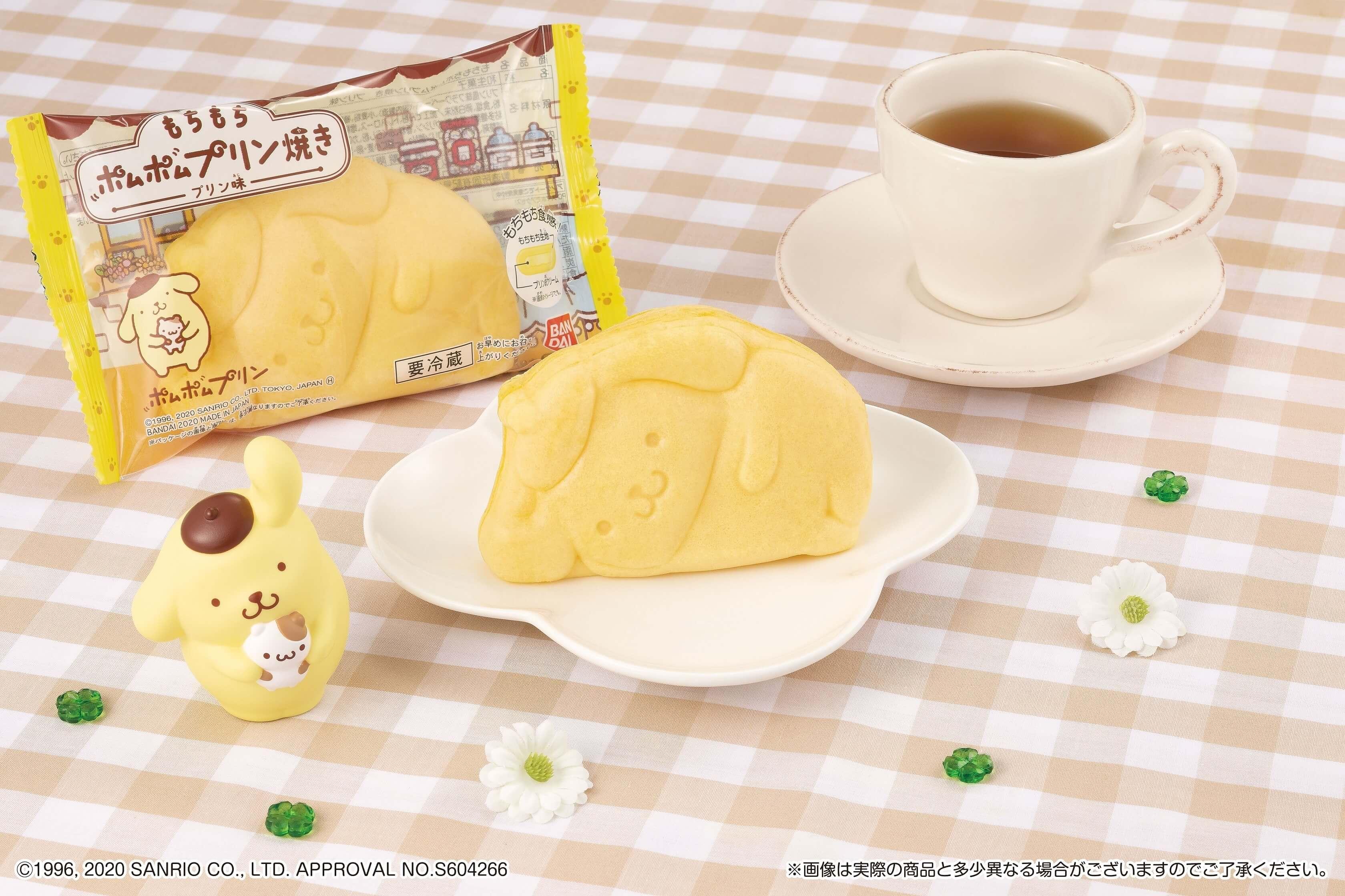 ポムポムプリン Pompompurin sweets 布丁狗 甜點