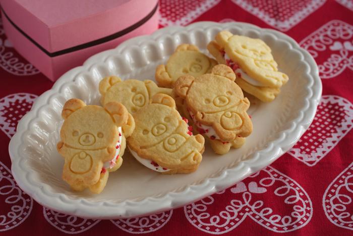 リラックマ バレンタイン レシピ グッズ Rilakkuma Valentine recipe items 貝印 3