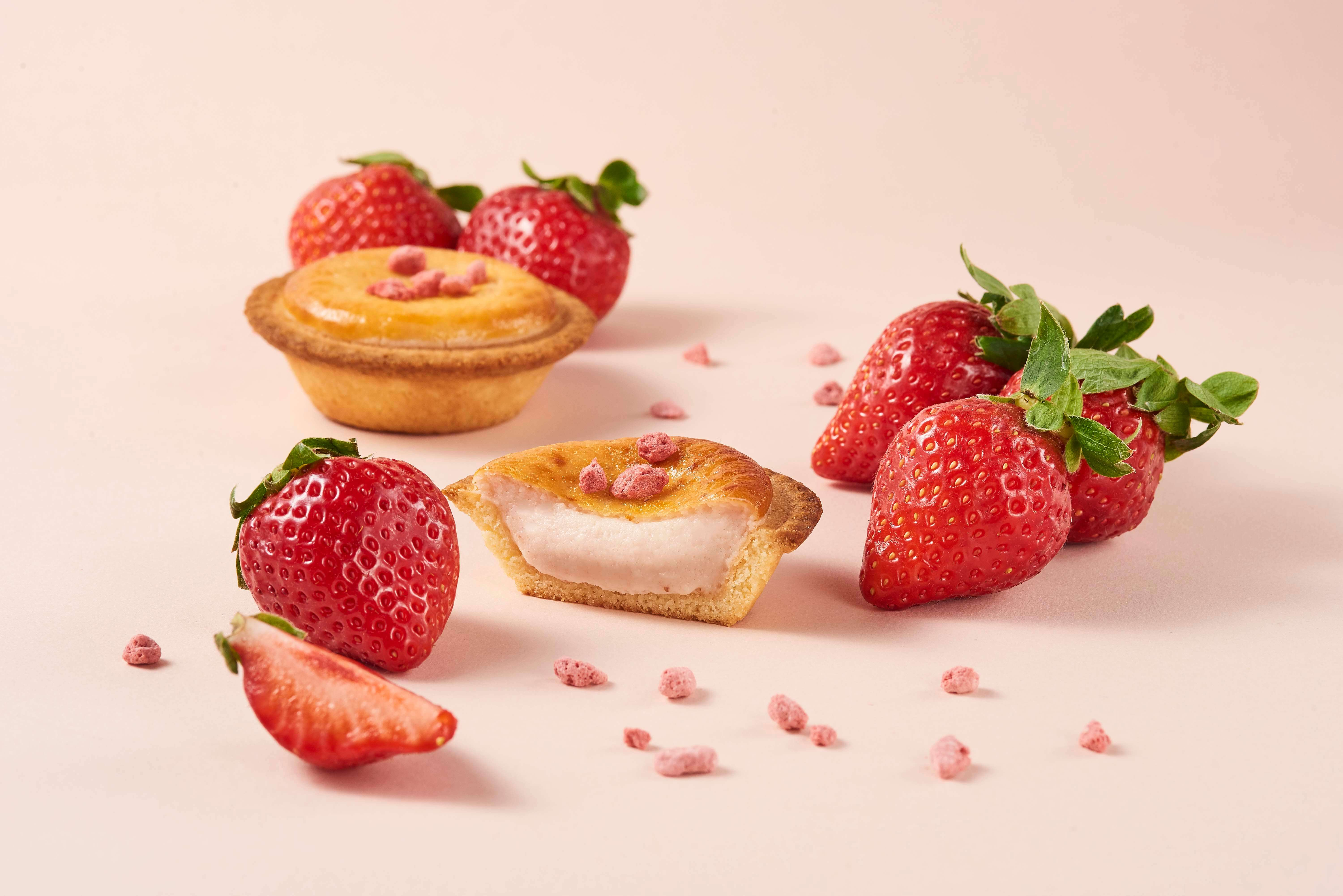 BAKE CHEESE TART いちご スイーツ strawberry sweets 6