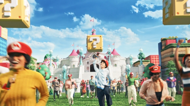 Super mario マリオ 任天堂 Nintendo Super Nintendo World USJ ユニバーサル・スタジオ・ジャパン Universal Studio Japan_ハテナブロック