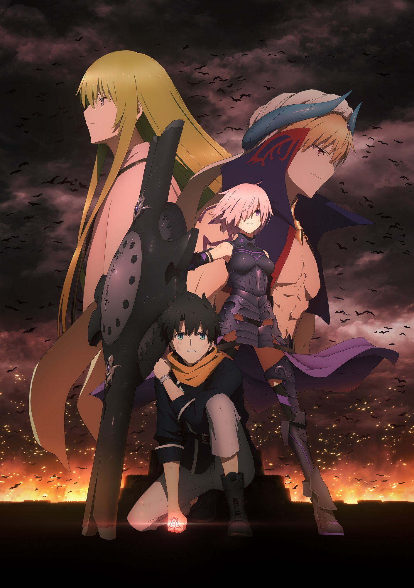 Milet Tvアニメ Fate Grand Order 絶対魔獣戦線バビロニア Ed