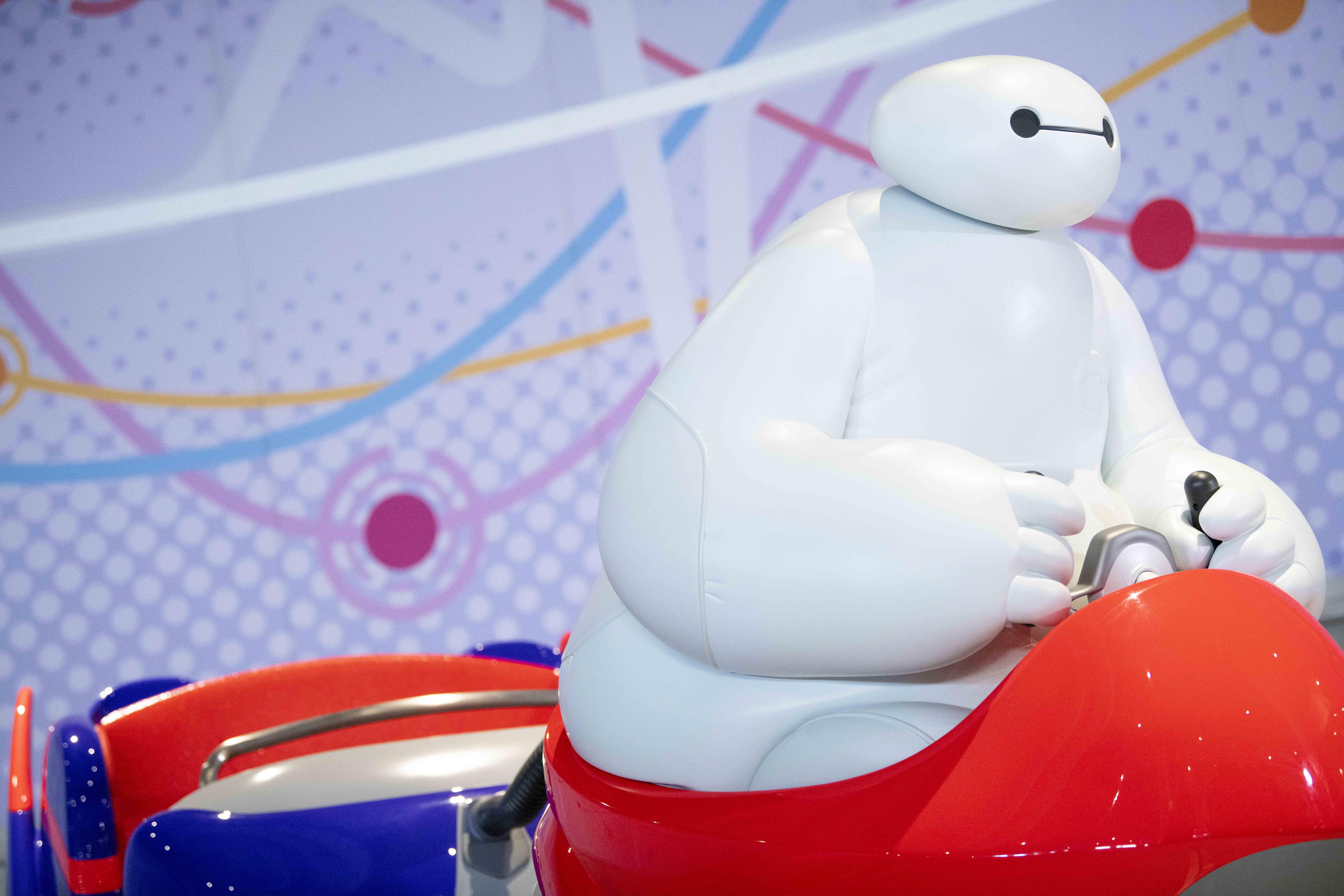 東京ディズニーランド Tokyo Disney Land 「ベイマックスのハッピーライド」