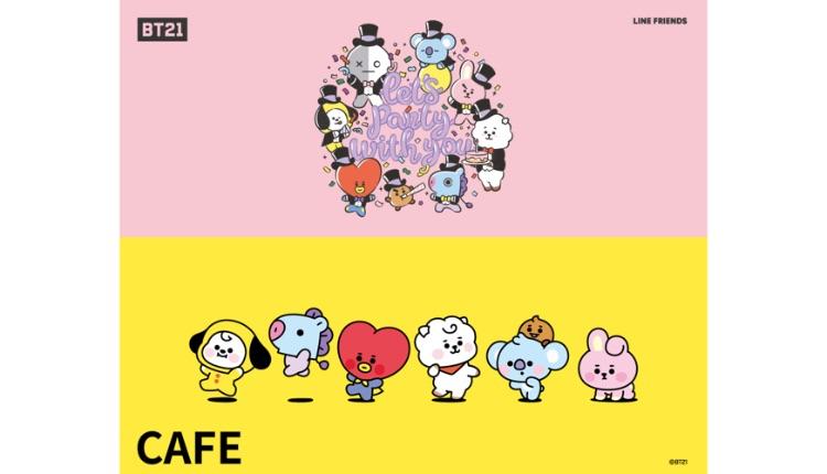 BT21 カフェ_防彈少年團咖啡廳_BT21 Cafe BTS