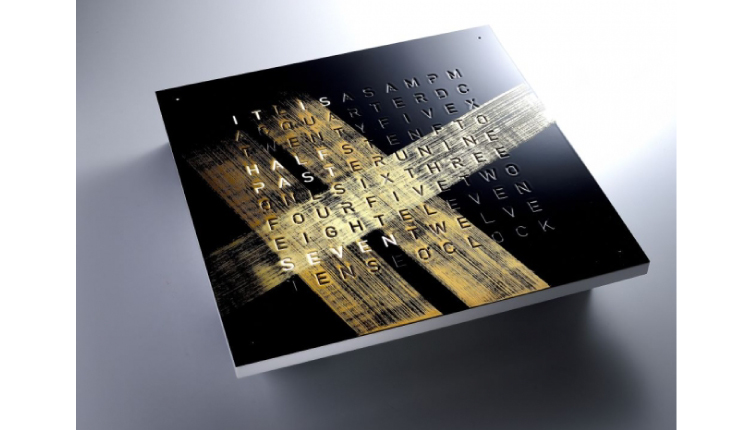 蔦屋書店 QLOCKTWO-CLASSIC Tsutaya-漆 蒔絵_top