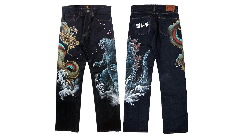 ゴジラジーンズ Godzilla Jeans 哥斯拉 牛仔褲-2
