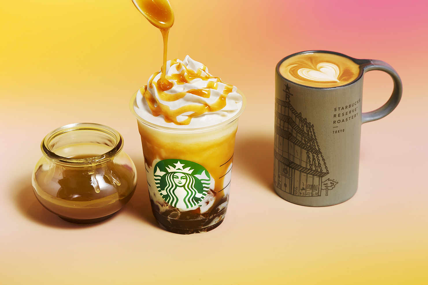 スターバックスバタースコッチ ラテ_ Starbucks Butterscotch Latte 星巴克奶油糖拿铁