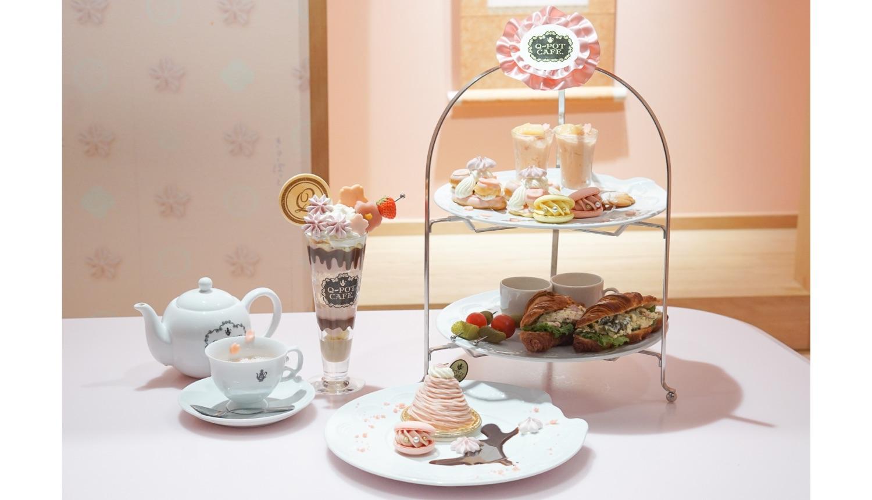 櫻花下午茶 q pot cafe sakura 桜 アフタヌーンティー afternoon tea_櫻花下午茶-2