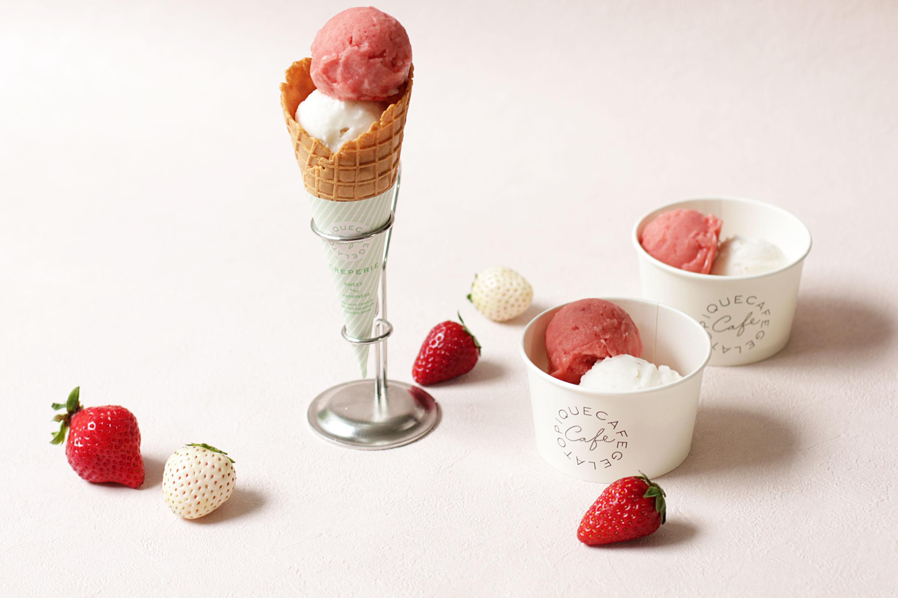 gelato pique cafe いちごフェア Strawberry Fair 咖啡店草莓節_2