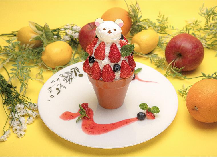 リラックマのまくまくフルーツカフェ Rilakkuma Fruit Cafe 鬆弛熊水果咖啡館_3
