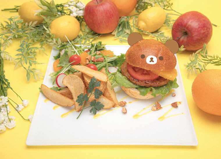 リラックマのまくまくフルーツカフェ Rilakkuma Fruit Cafe 鬆弛熊水果咖啡館_1