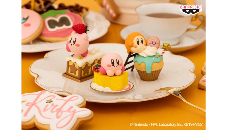 星のカービィお菓子フィギュア Kirby Dessert Figures星之卡比的糖果形象