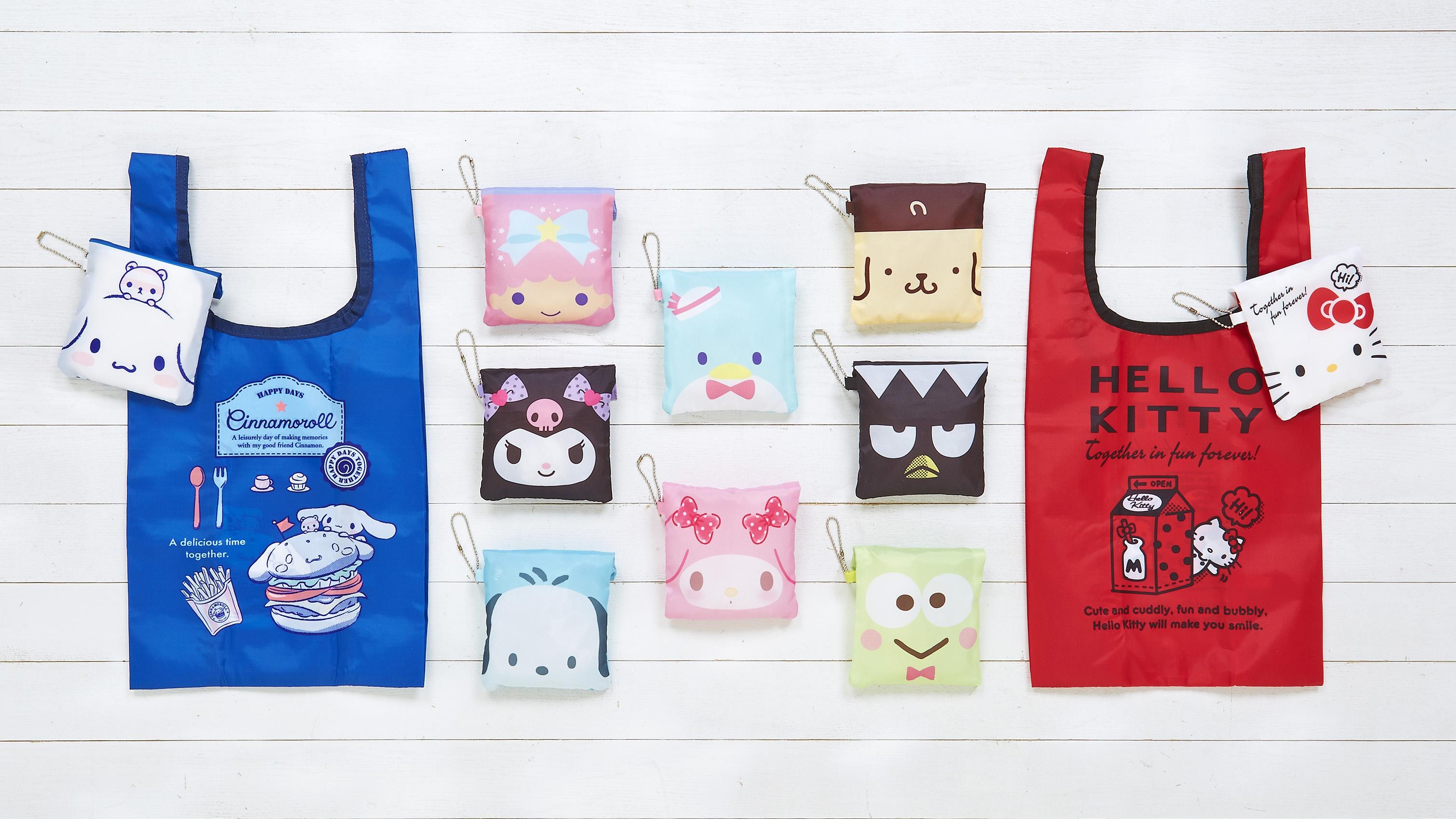サンリオエコバッグ_ Sanrio Eco Bag 三麗鷗環保袋_2