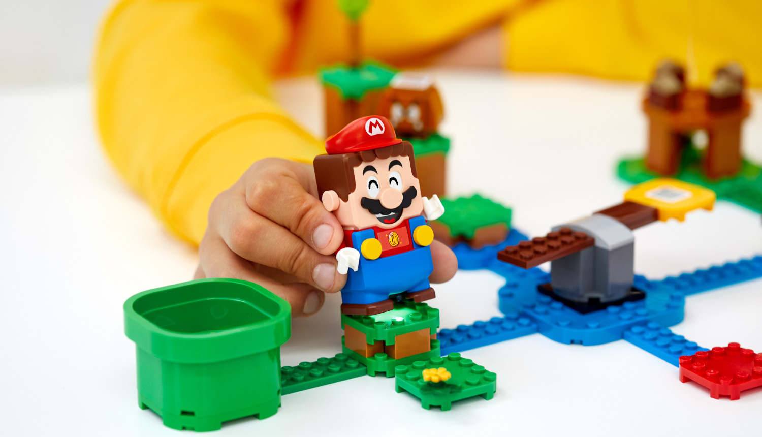 Official Super Mario Lego Series Reveals Starter Course And