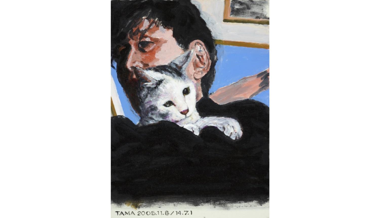 タマ、帰っておいで Tama the cat 貓畫