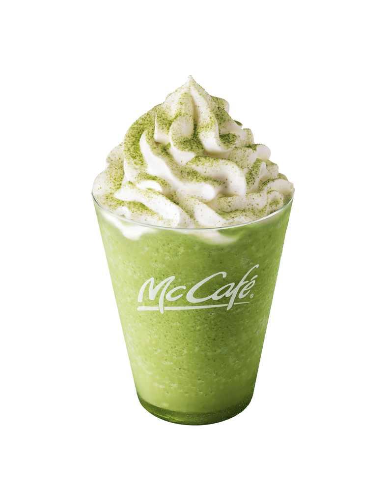 マクドナルドスイーツ McDonald's matcha dessert frappe 麥當勞甜點_2