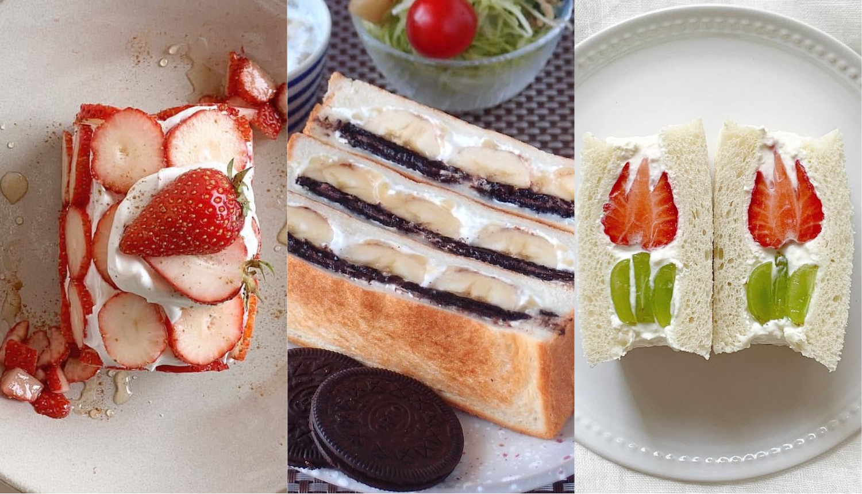 フルーツサンドレシピ-Fruit-Sandwich-Recipes-水果三明治食譜