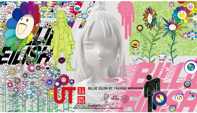 ユニクロ-ビリー・アイリッシュ×村上隆-UNIQLO-Billie-Eilish-Takashi-Murakami-比莉·艾利什