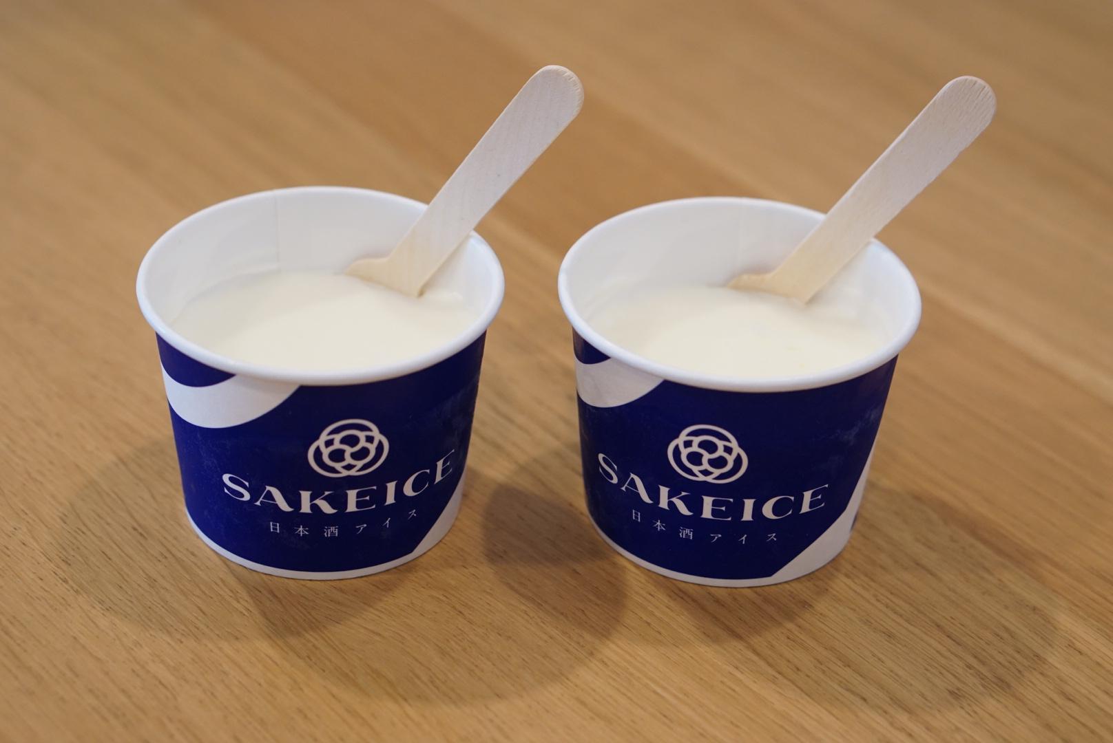 SAKE ICE 日本酒 アイス 浅草