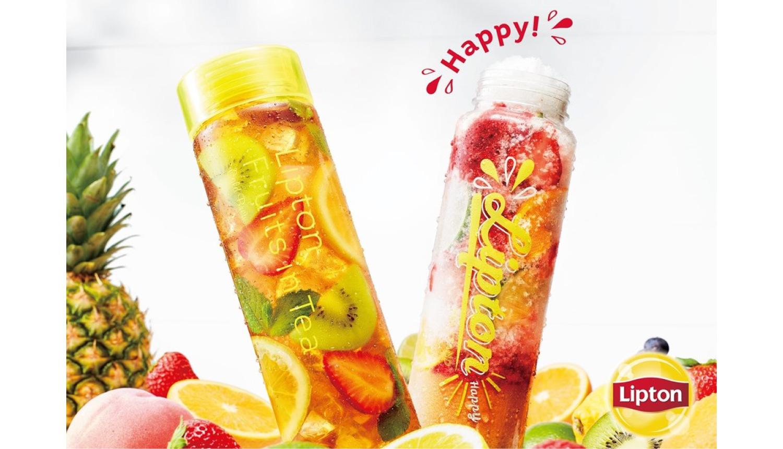 Lipton-TEA-STAND-Parfait-Ice-リプトンパフェ氷-茶冰