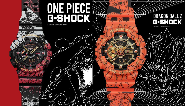 "G-SHOCK""-x-「ONE-PIECE-DRAGONBALL Zワンピース ドラゴンボール時計-航海王鍾 DRAGONBALL.1"