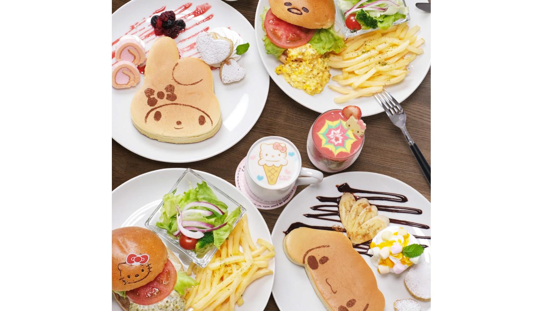 SANRIO-CAFE-サンリオカフェ三麗鷗咖啡廳