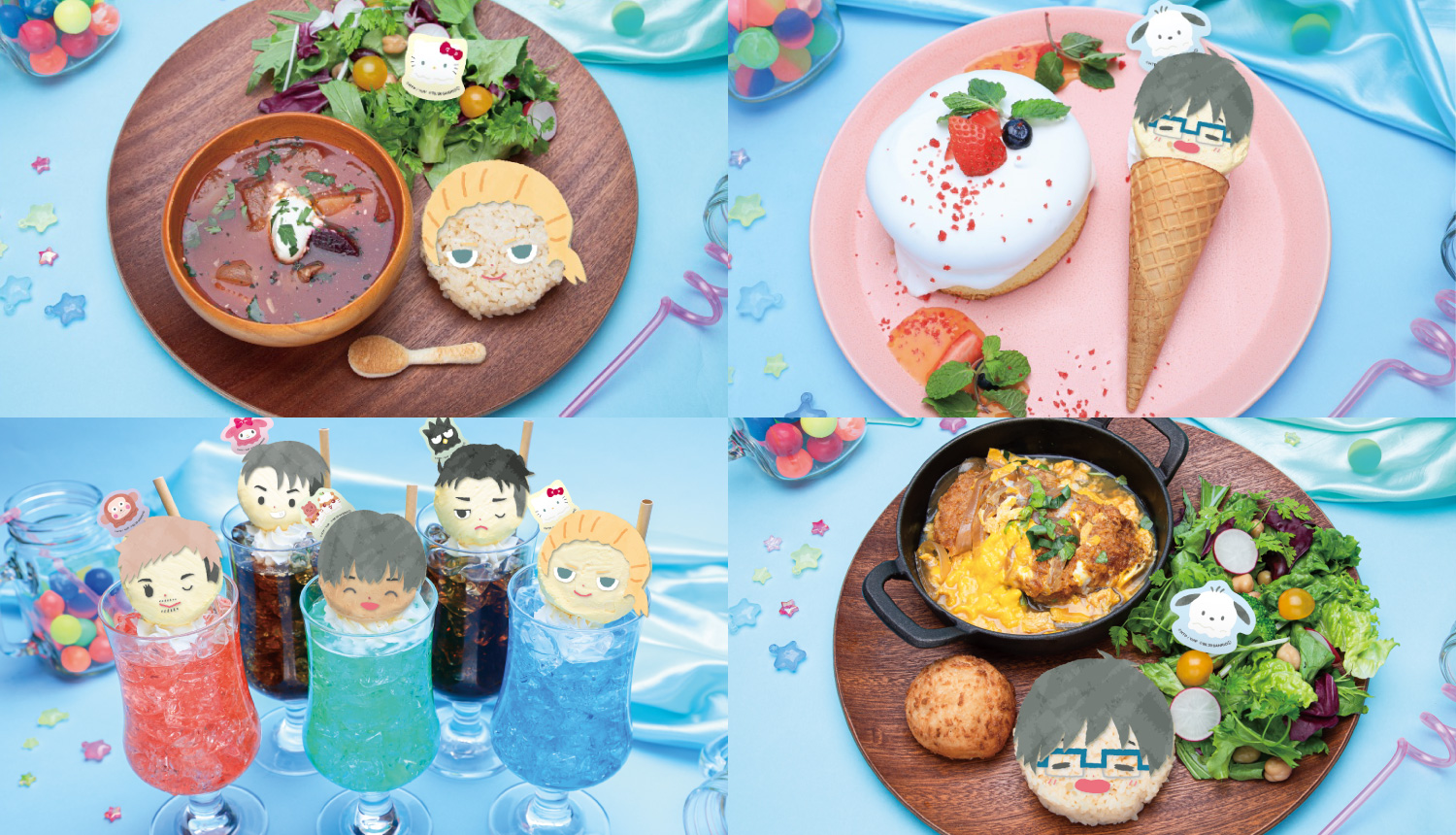 Yuri-on-Ice.Sanrio-characters-Cafe-2020-ユーリ!!!-on-ICEサンリオカフェ