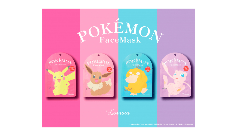 POKEMON-Facemask-ポケモンフェイスマスク