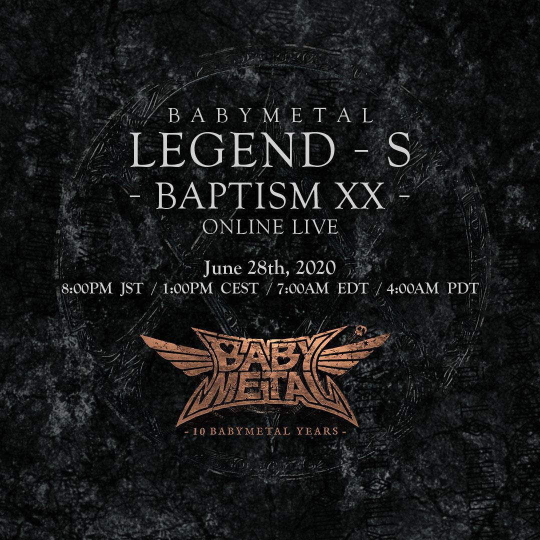 BABYMETAL Online Live Show-ベイビーメタル オンラインライブ 在線現場表演