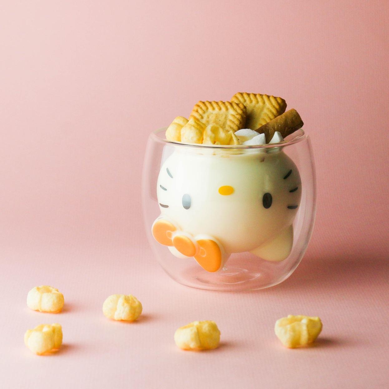 ハローキティ ダブルウォールグラス Hello Kitty Double Wall Glass 凯蒂貓 玻璃2