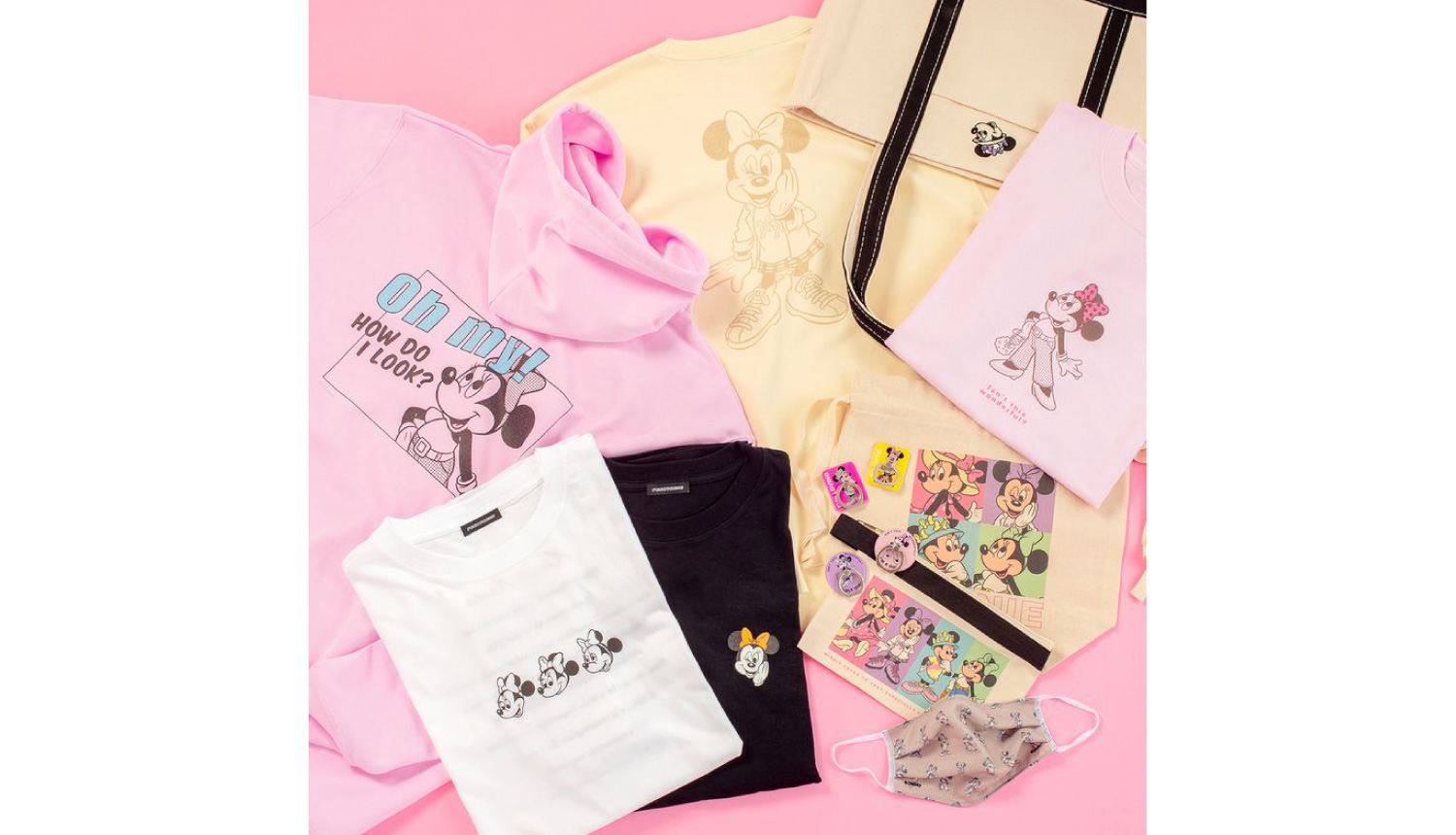 "Disney-""Positively-MINNIE""-Campaign-キャンペーン-迪士尼"