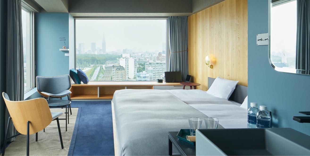 sequence MIYASHITA PARK Shibuya hotel 渋谷ホテル 澀谷飯店