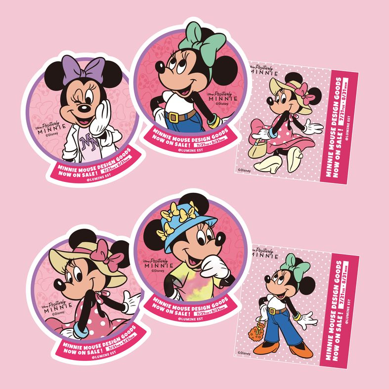 "Disney ""Positively MINNIE"" Campaign キャンペーン 迪士尼6"