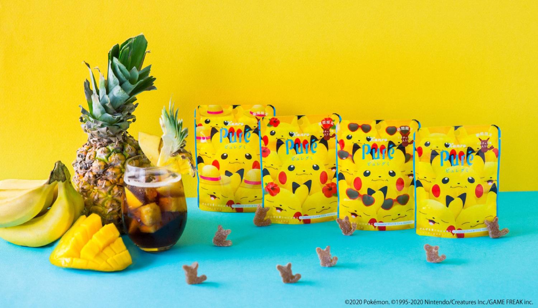 ピカチュウ×ピュレグミ-Pikachu-sweets-精靈寶可夢甜點