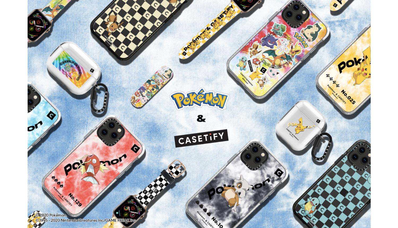 CASETiFY-ポケモンコレクション-Pokemon-collection-精靈寶可夢5