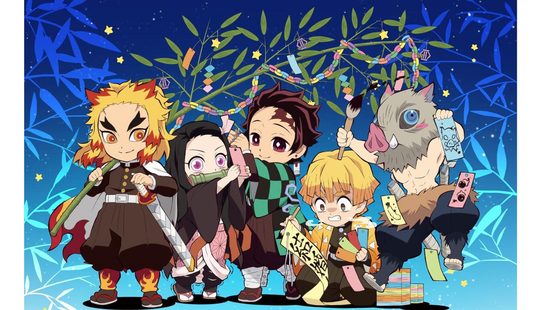 鬼滅の刃-劇場版七夕-鬼滅之刃-Demon-Slayer-Tanabata-