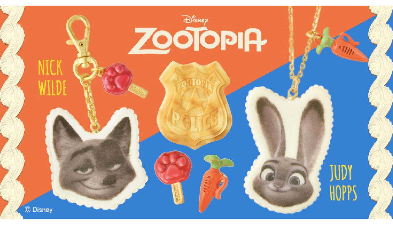 Zootopia-qpot-accessories-ズートピア-アクセサリー-疯狂动物城-首飾