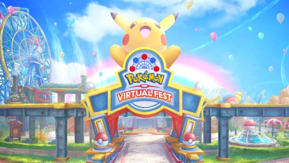 ポケモンバーチャルフェスト Pokemon Virtual Festival 精靈寶可夢