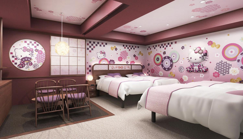 ハローキティルーム浅草東武ホテル-Hello-Kitty-Room-Tobu-Hotel-Asakusa-凱蒂貓旅館浅草