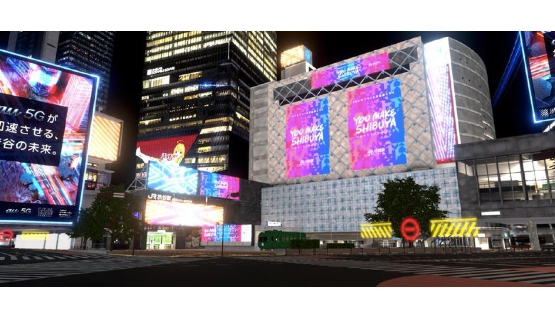 バーチャル渋谷キャラクターデザイン-Virtual-Shibuya-虛擬澀谷-虛擬偶像
