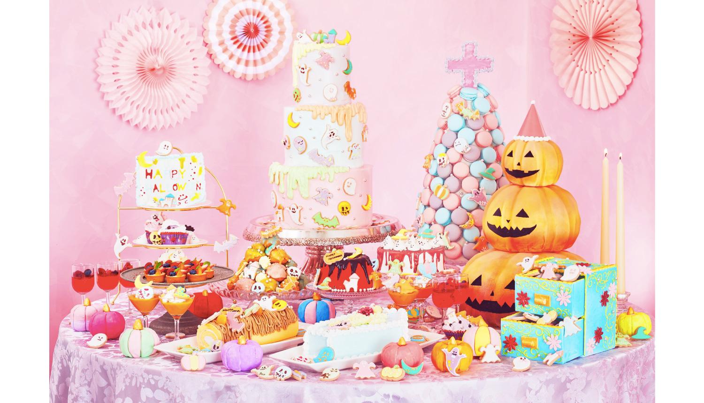 「ハッピーハロウィーンスイーツブッフェ-Pastel-Sweets-Buffet-自助餐
