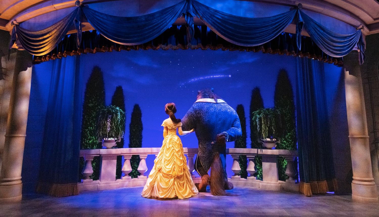 東京ディズニーランド-美女と野獣-Tokyo-Disneyland-Beauty-and-the-Beast-美女與野獸-東京迪士尼樂園2
