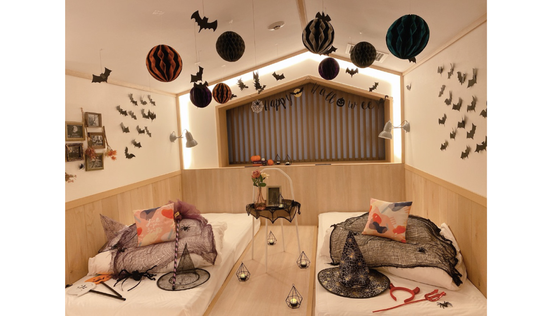 CAFETEL京都三条-Halloween-Kyoto-Hotel-京都旅館