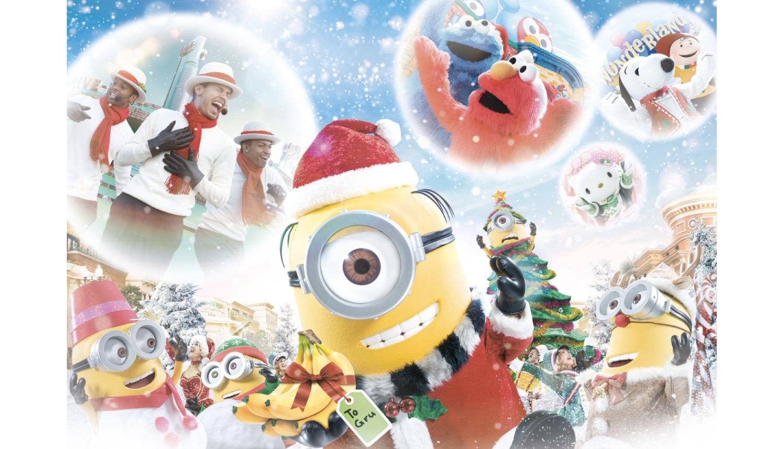 ユニバーサル・スタジオ・ジャパン-クリスマス-2020-USJ-Christmas-2020-日本環球影城-聖誕節-2020