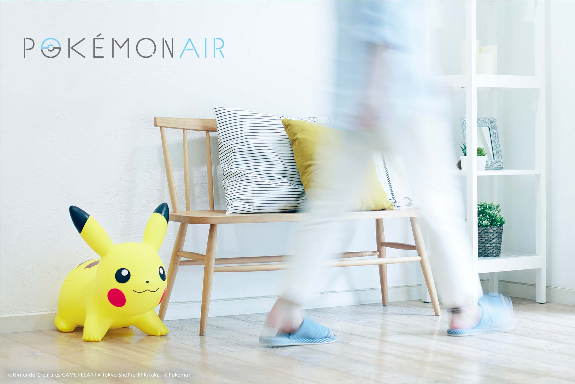POKEMON AIR(ポケモンエアー ピカチュウ) 精靈寶可夢1