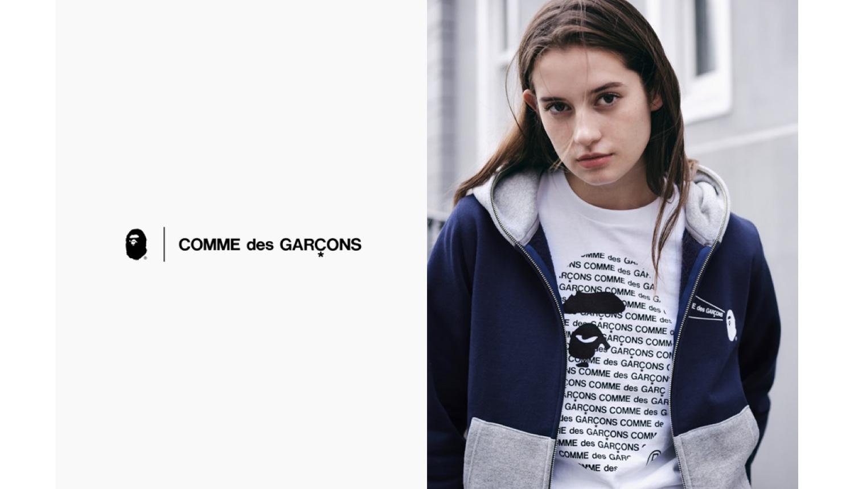 A-BATHING-APE®-×-COMME-des-GARCONSベイプ-
