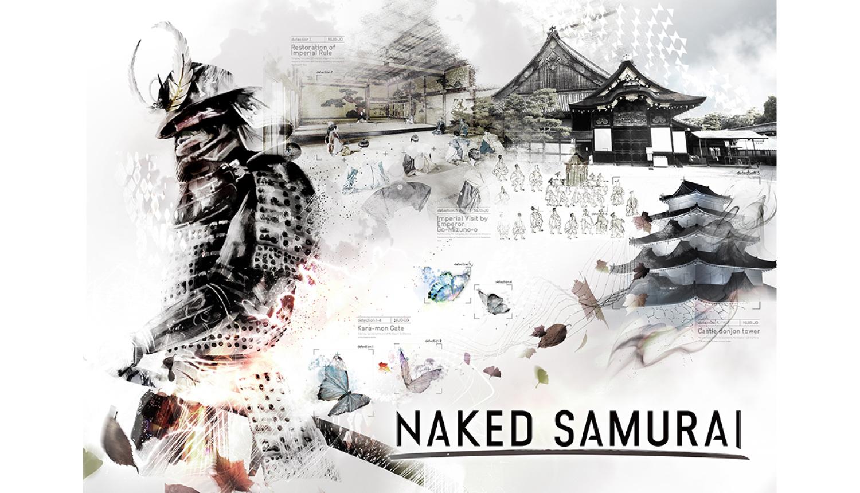 NAKED-SAMURAI-世界遺産・二条城-祭典