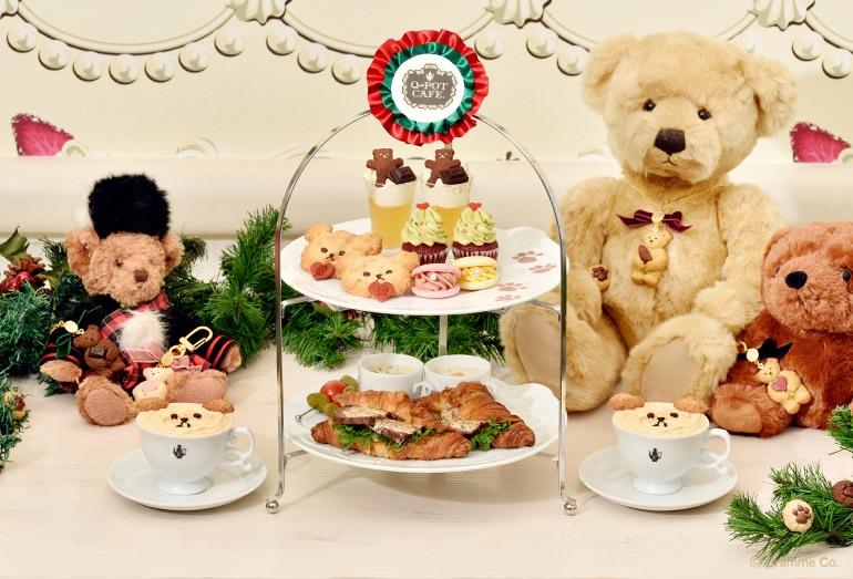 表参道「Q-pot CAFE.」 Christmas 2020 キューポットカフェクリスマス Q-pot. 聖誕節11