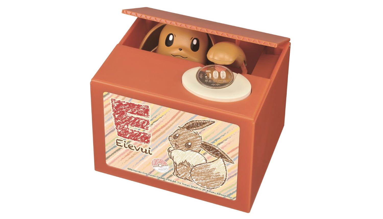 イーブイ貯金箱-Eevee-Piggybank-精靈寶可夢