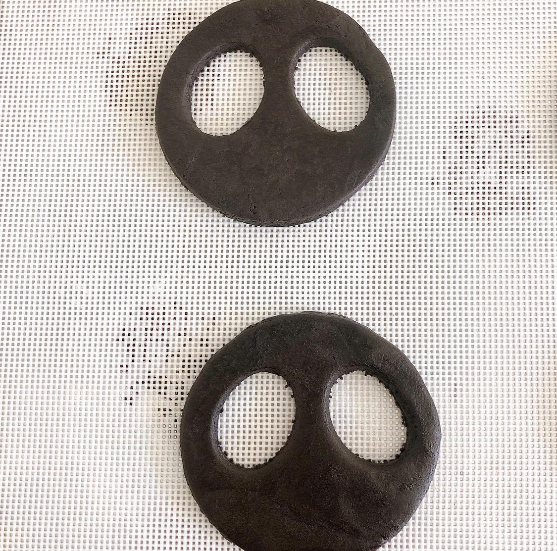 ジャック・スケリントのステンドグラスクッキー halloween recipe 食譜2